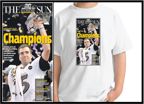 Baltimore Sun Apparel
