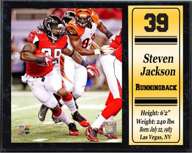 12x15 Plaque Steven Jackson Atlanta Falcons