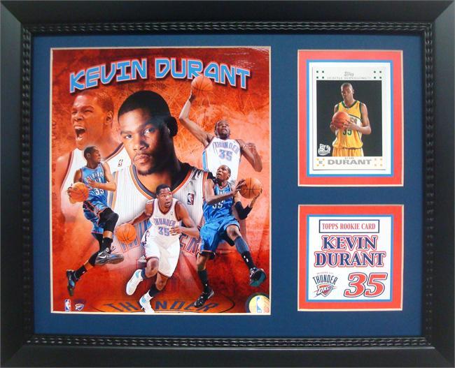11x14 Card Frame Kevin Durant Oklahoma City Thunder