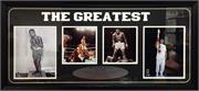 15x35 Deluxe Frame - Muhammad Ali Photos from 1942-2016 - Famous Moments